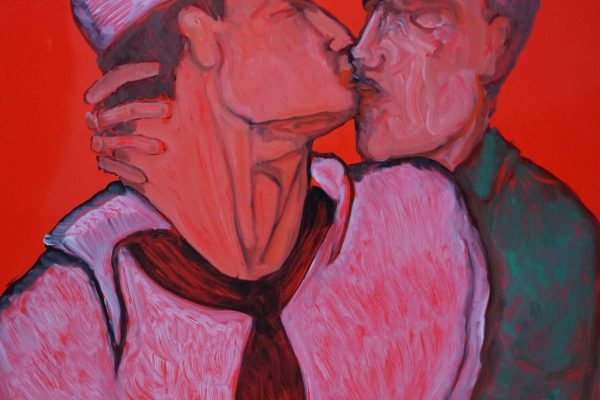 17H20 The Kiss HsC 100 x 70 cm